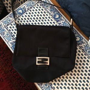 Authentic Fendi Zucca Mama Bag
